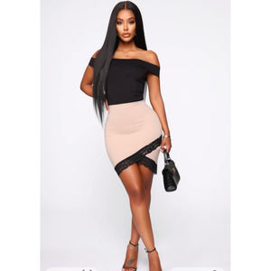 Fashion Nova Fall For Your Type Dress L EUC